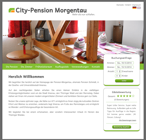 City-Pension Morgentau