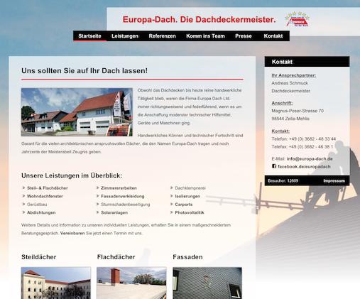 Europa-Dach - Der Dachdeckermeister