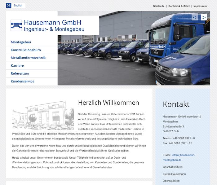 Hausemann Montagebau