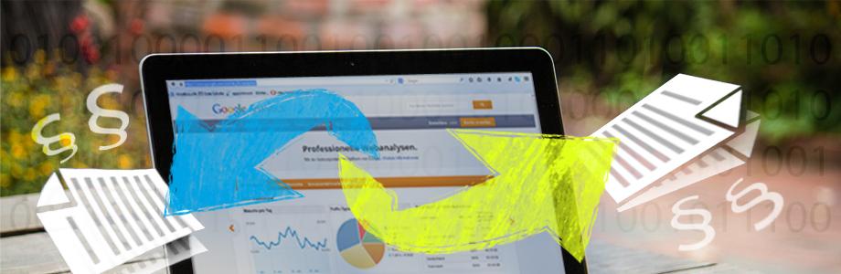 Rechtssicheres Datensammeln mit Google Analytics